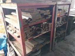 Retalhos de aço 1045 para aproveitamento. (Ler descrição)
