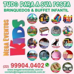 Aluguel de brinquedos & buffet infantil