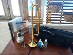 Trompete Yamaha 2330 Bb + KIT Completo