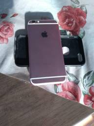 IPhone 6s rose 32gb acessórios nota R$1200 ou 6x R$200 no cartão