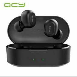 QCY T2C True Fone De Ouvido Bluetooth 5.0 Esportivo com / Fone de Ouvido Sem Fio