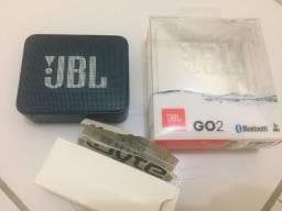 Caixa jbl go2 original e novinha !!!!