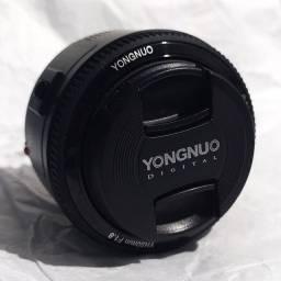 Lente 50mm 2.8 Yongnuo para Canon