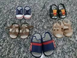 Sandálias infantis Masculino