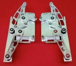 Dobradiças de capo f-100 em aluminio usinado em cnc