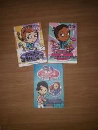 Kit de 3 livros Go Girl - a partir de 8 anos