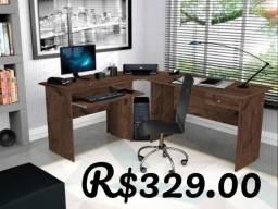 Mesa de escritório Max /Estendida /com gaveta/Mega Promoção!!!