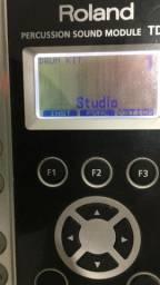 Módulo De bateria eletrônica Roland Td9