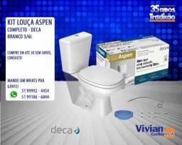 Kit Aspen Deca Branco Completo - 3/6L