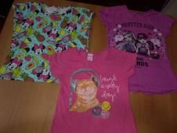 Lote roupas de menina 8 anos