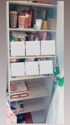 Estante de livros/coisas, 6 prateleiras, perfeito estado! Madeira linda
