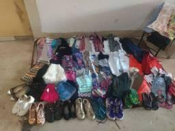 Lote roupas infantis