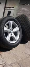 Pneus montados com Roda (4) BMW  X5  2008/2009  255/55 R-  18
