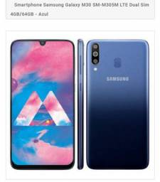 Troco ou vendo Samsung Galaxy m30