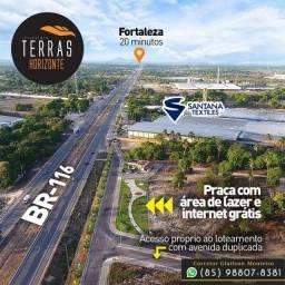 Loteamento Terras Horizonte no Ceará (Infraestrutura pronta).!!%%%