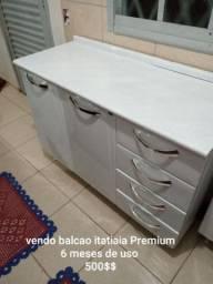 BALCÃO ITATIAIA PREMIUM  6 MESES DE USO
