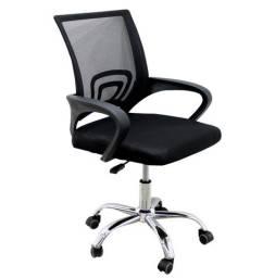Cadeira tela escritório giratória entrego e monto