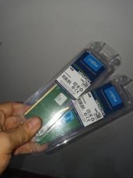 Memória 4 gb ddr4 2666 mhz crucial