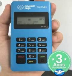 Máquina de passa cartão débito e crédito .