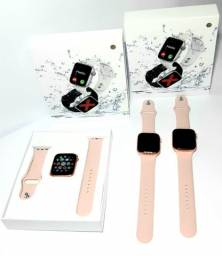 Relógio Smartwatch IWO T500 rosa