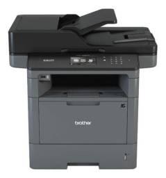 Impressora Multifuncional Brother Dcp-l5652dn 110v Cinza E Preta
