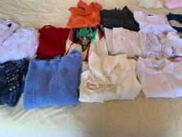 Vendo roupas selecionadas 27 peças femininas ,n M e G nova e semi P/brecho lindas