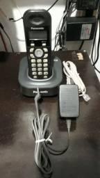 Telefone sem fio panasonic devt 6.0 completo
