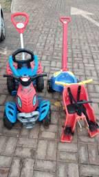 Vendo esse 2 brinquedos para crianças