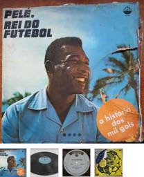 Lp Pelé O Rei Do Futebol A História Dos 1000 Gols