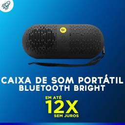 Caixa de Som Portátil Bluetooth Bright Preto