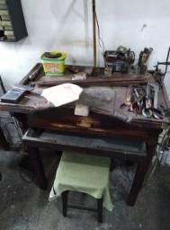 3 Bancas de madeira para Ourives (usada)