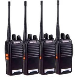 Kit 4 Radio Comunicador W.talk Baofeng Bf-777s
