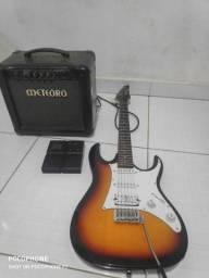 Guitarra/ pedaleira/ Cubo