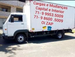 Caminhão disponível para viajem