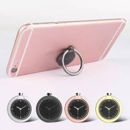 Kit com 100 anéis para celular modelo relógio - Frete grátis
