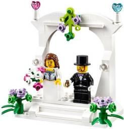 Lego 40165 casamento lacrado