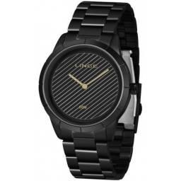Relógio Feminino Lince Pulseira Black