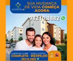 127- Apartamento 2 quartos > Entrada R$500