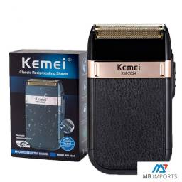 Máquina De Barbear Shaver Kemei Km-2024 Nova