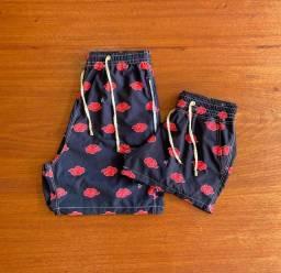 Shorts moda praia