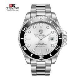 Relógio Automático TEVISE - Prata