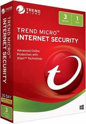 Trend Micro Internet Security (3 dispositivos, 1 ano)