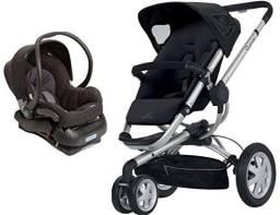 Carrinho de bebê Quinny Buzz + bebê conforto com base Isofix
