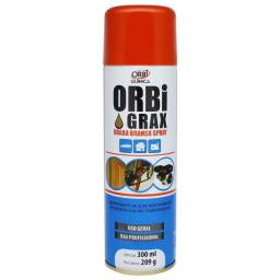 Graxa Branca Spray 300ml Orbi Química