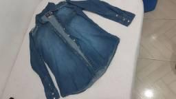 Camisa jeans e Calça Jeans Feminina