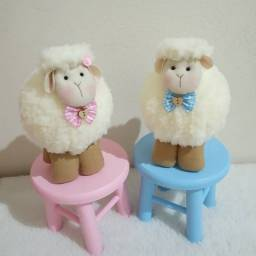 Ovelhinhas para decoração