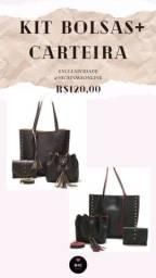 Kit de bolsas feminina 120$ NOVAS