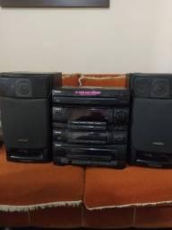 Som Aiwa 2400 w ótima qualidade de som
