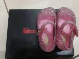 Mimi Melissa original por 50$ usada pouca vezes.