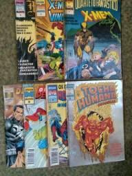 Revista Épicos Marvel, coleção completa do 1 ao 7